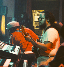 Chung, on tour with Peter Tosh (1978)