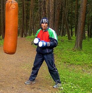 Mikhail Dauhaliavets Belarusian boxer