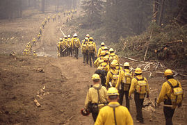 Military firefighters in Yellowstone 1988.jpg