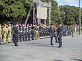 Military parade and demonstration at the Dedication of the Australian Memorial 04.JPG