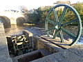 Mill wheel, Wetherby waterfront (18th April 2014) 002.JPG