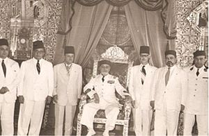 Tunisian independence - the Chenik ministry