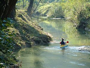 Mirna (Croatia) - The Mirna River in Istria, Croatia.