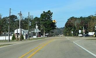 Mississippi Highway 178 - Highway 178 in Tremont