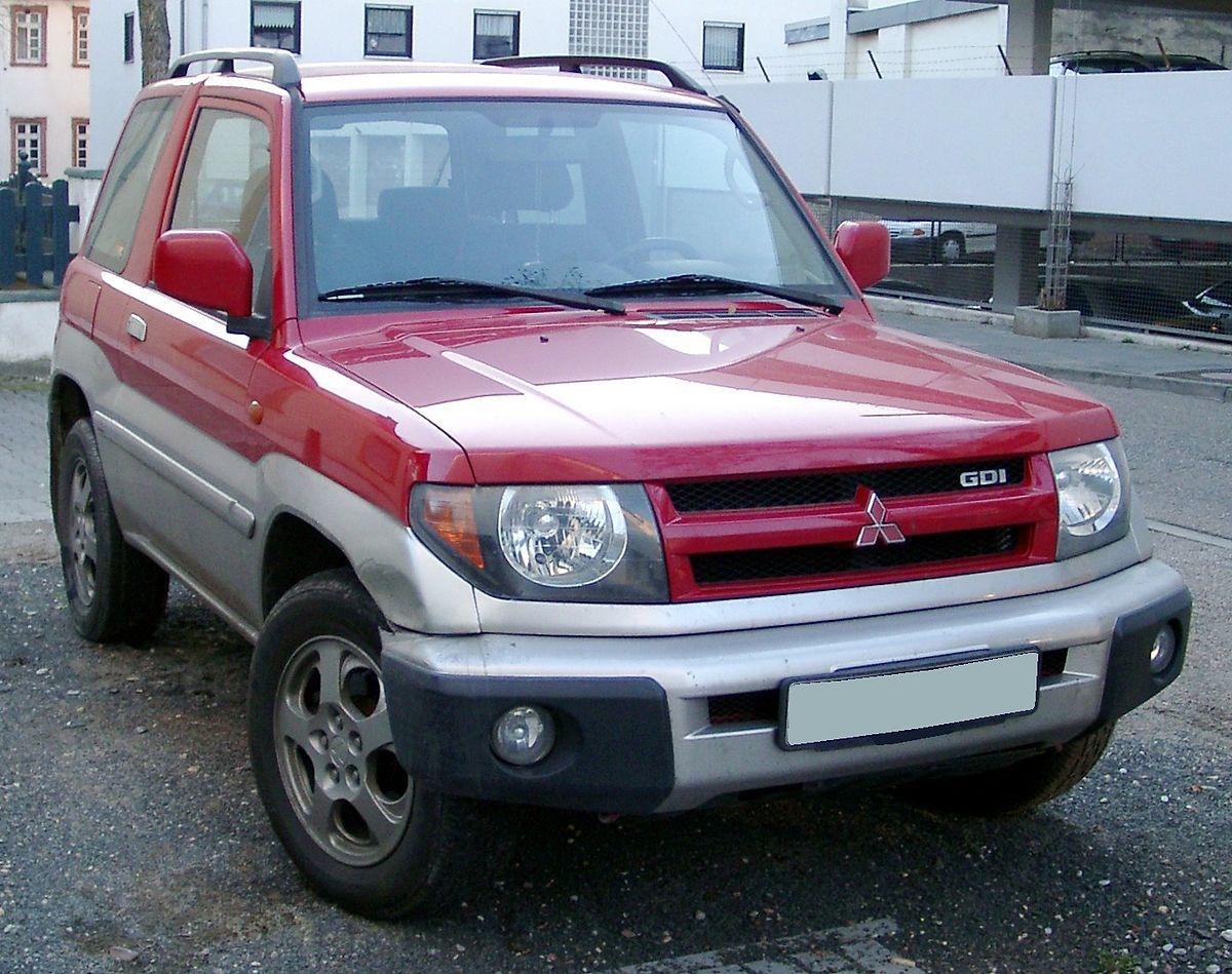 Mitsubishi Pajero Pinin — Википедия
