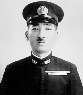 Mitsuo Fuchida Japanese Naval officer