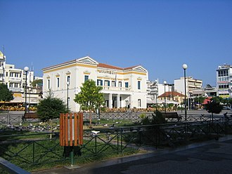 Sparta (modern) - The centre of the city with the town hall