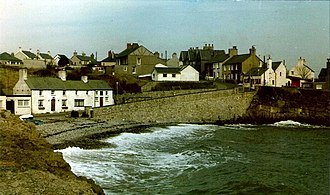 Moelfre, Anglesey - Image: Moelfre Shore