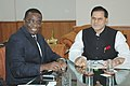 Monnet Leon Emmanuel meeting with the Minister of State for Mines, Dr. T. Subbarami Reddy to discuss bilateral cooperation in Mining Sector, in New Delhi on August 07, 2006.jpg