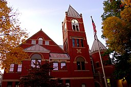 Monongalia County Courthouse i Morgantown.