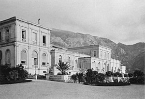 Monte Carlo Casino - Seaside facade before 1878