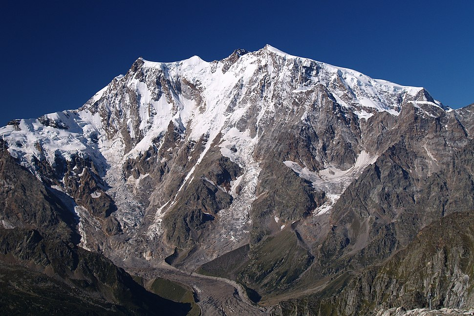 Monte Rosa east face