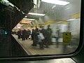 Monument Metro station from train 2010-03-01.jpg