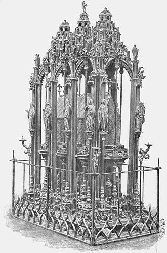 St. Sebaldus Church, Nuremberg - Image: Monument of St Sebaldus