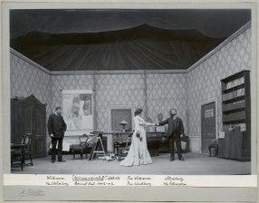 Monumentet, Dramatiska teatern 1902. Föreställningsbild - SMV - H14 051.tif