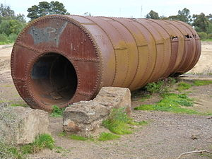 Flued boiler - Cornish boiler