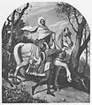 Moritz von Schwind Dame zu Pferd mit Page.jpg