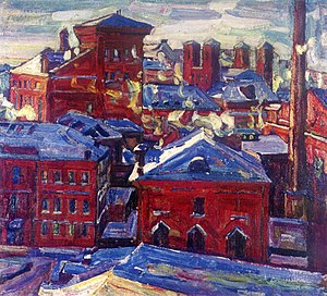 Abraham A. Manievich - Image: Moscow, View Toward the Factory