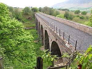 Cockermouth, Keswick and Penrith Railway - Mosedale viaduct.