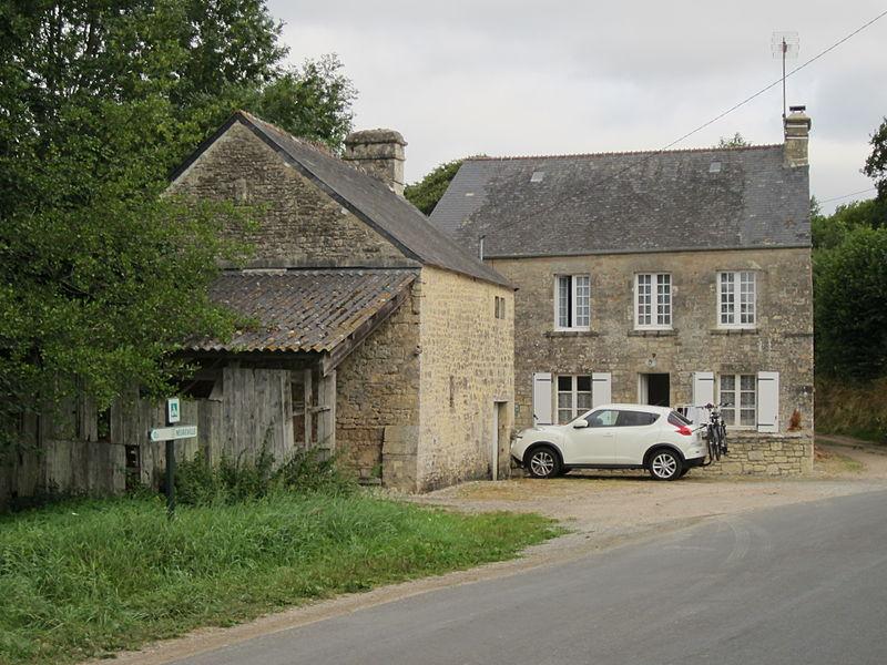 Moulin de Négreville, Petit moulin à farine désaffecté, vraisemblablement du 18e siècle,