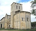Moulis-en –Médoc, Gironde, église Saint Saturnin bu IMG 1429.jpg