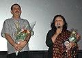 Ms. Manju Bora, Director of the film 'Aai Kot Nai' at the presentation of the film, during the 40th International Film Festival (IFFI-2009), at Panaji, Goa on November 28, 2009.jpg