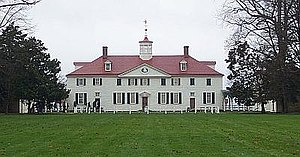American gentry - Mount Vernon, Virginia, was the plantation home of George Washington.