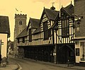 Much Wenlock , Shropshire , The Guildhall , April 2012 - panoramio.jpg