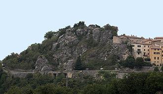 House of Malatesta - Image: Mura Malatestiane o Castello di Penna