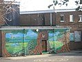 Mural on playground wall at St Thomas More's RC Primary School - geograph.org.uk - 626131.jpg