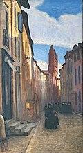 Musée du Vieux Toulouse - La rue du Taur - François Gauzi.jpg