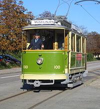 Museispårvagn nr 100, Malmö.jpg