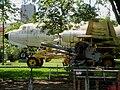 Museu Eduardo André Matarazzo - Bebedouro - Nome oficial, Museu Eduardo André Matarazzo de Armas, Veículos e Máquinas. Em destaque, o Canhão de 55 mm Mount M24, Motoniveladora Caterpillar ano 1948 e o - panoramio.jpg