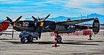 N138AM 23 Skidoo 1943 Lockheed P-38J Lightning C-N 44-23314 (30928032411).jpg