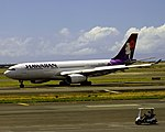 N395HA Airbus A330-200 Hawaiian Airlines (15188169874).jpg