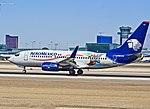 N423AM AeroMexico Boeing 737-73V (cn 32423-1433) (7166532490).jpg