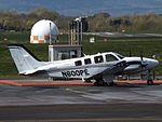 N600PE Beechcarft Baron G58 (26569236422).jpg