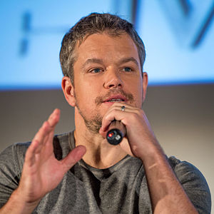 Matt Damon filmography - Damon at an event for The Martian in 2015