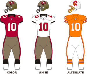 2010 Tampa Bay Buccaneers season - Image: NFCS Uniform TB