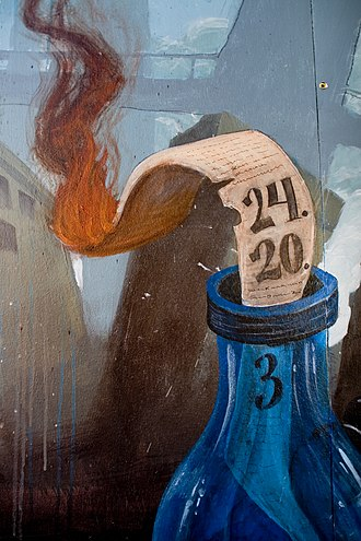 Numbers in Year Zero - 24.20.3 – A detail from the mural in London.
