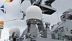 NORA-1C antenna(N-AT-320) on board JS Hayabusa(PG-824) right rear view at Maizuru Naval Base July 29, 2017.jpg