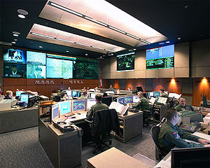 Cheyenne Mountain Complex - Image: NORAD Command Center