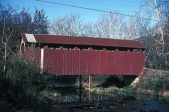 Susquehanna Township, Juniata County, Pennsylvania - North Oriental Covered Bridge