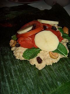 Nacatamal food