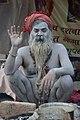 Naga Sadhu - Gangasagar Fair Transit Camp - Kolkata 2013-01-12 2494.JPG