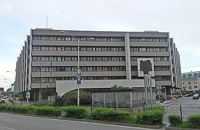 Ako do Najvyšší súd Slovenskej republiky hromadnou dopravou - O mieste