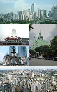 Nanning Prefecture-level city in Guangxi, Peoples Republic of China