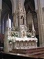 Nantes église Saint Clément autel et orgue de Choeur 0070.jpg