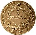 Napoléon Ier 5 francs an 13 T.jpg