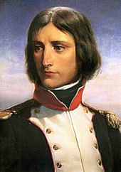 Napoleon Bonaparte, aged 23, as lieutenant-colonel of a battalion of Corsican Republican volunteers. Portrait by Henri Félix Emmanuel Philippoteaux (Source: Wikimedia)